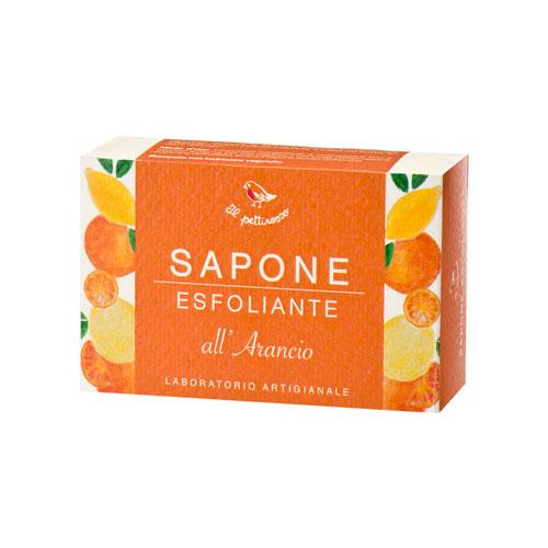 Sapone esfoliante all' arancio